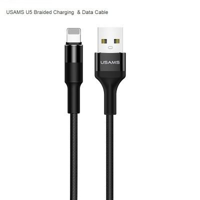 Braided Lightning Charging & Data Cable 1200mm|USAMS|U5