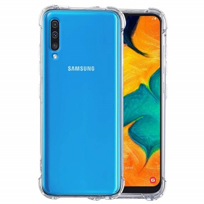 Samsung Galaxy A70 Super Protect Anti Knock Clear Case
