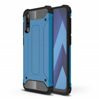 Samsung Galaxy A50 Case - Blue Luxury Armor