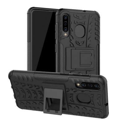 Samsung Galaxy A50 Case - Black Tyre Defender