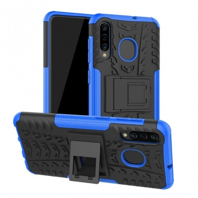 Samsung Galaxy A50 Case - Blue Tyre Defender