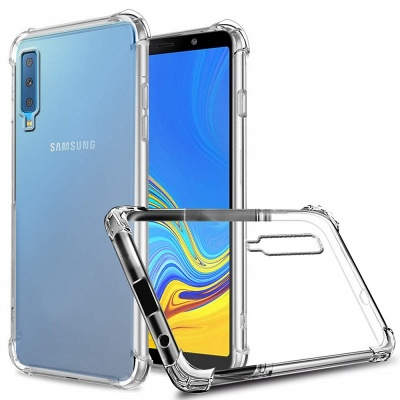 Samsung Galaxy A7 2018 Super Protect Anti Knock Clear Case