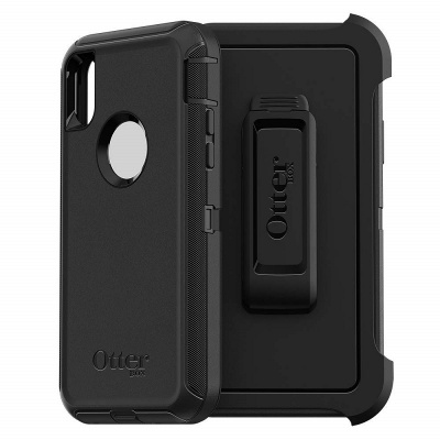 iPhone XS Case OtterBox Defender Series  Case Black