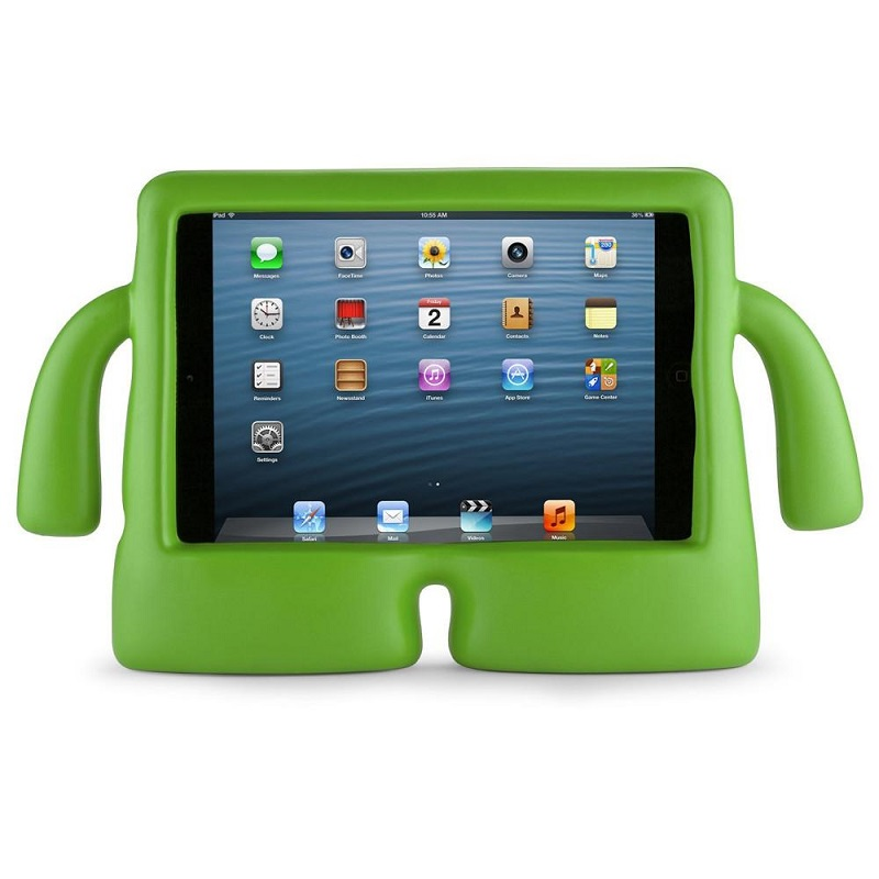 iPad 10.2 Inch 2019 / iPad 10.5 inch Case  for Kids Shock Proof Cover with Carry Handle Green