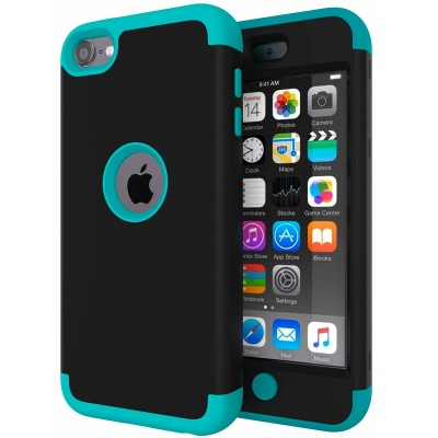 iPod Touch (5th/6th Generation)  Hybrid Protector Cover Black/Blue
