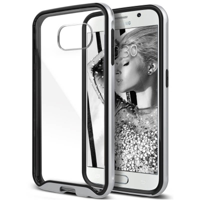 Samsung Galaxy S6 Caseology Waterfall Series Case - Silver