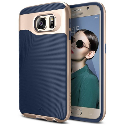 Samsung Galaxy S6 Caseology Wavelengh Series Case - Navy Blue