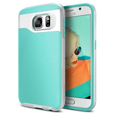 Samsung Galaxy S6 Caseology Wavelengh Series Case - Turquoise