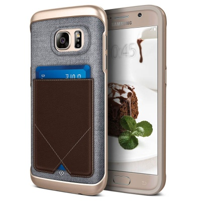 Samsung Galaxy S7 Messenger Series Case - Brown