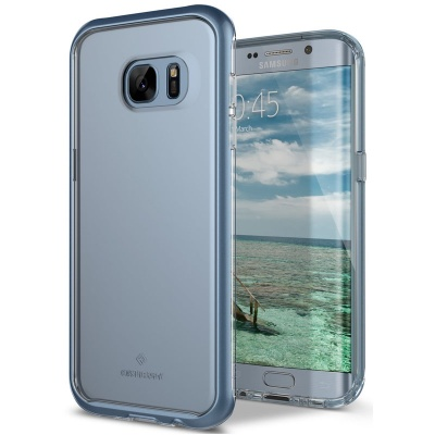 Samsung Galaxy S7 Edge Caseology Skyfall Series Case - Blue Coral