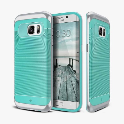 Samsung Galaxy S7 Edge Caseology Wavelength Series Case - Turquoise Mint