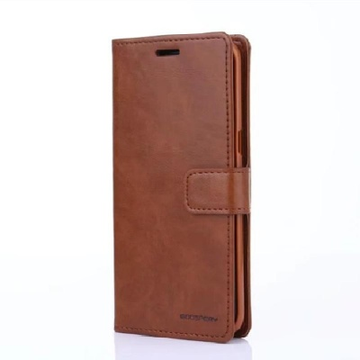 Samsung Galaxy S9 Goospery Bluemoon Diary Case Brown