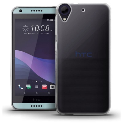 HTC 650 Silicon Case Clear