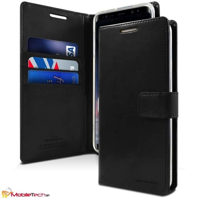 Huawei Mate 20 Pro Case Goospery Bluemoon Diary Case Black