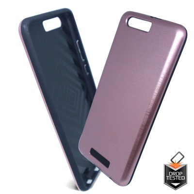 Huawei P10 Shockproof Metal Case RoseGold