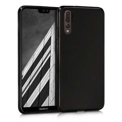 Huawei P20 Pro Silicon Black Cover