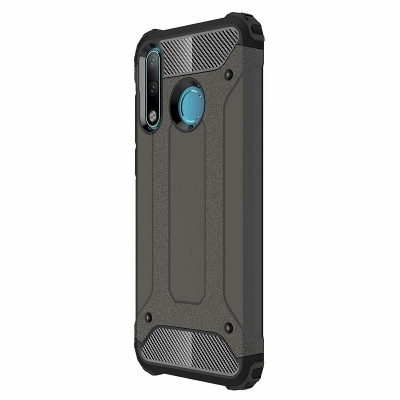 Huawei P30 Lite Case - Black Luxury Armor