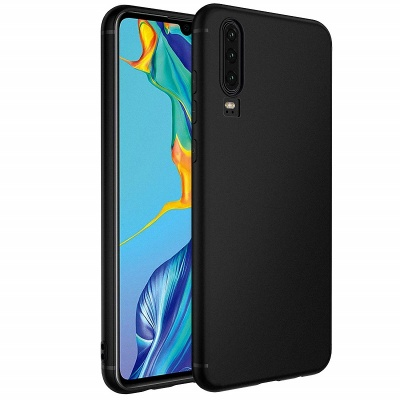 Huawei P30 Case - Silicone Black