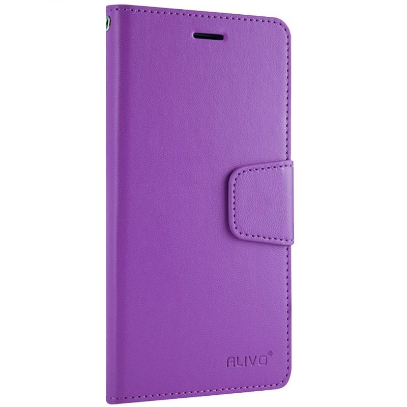 iPhone SE(2nd Gen) and iPhone 7/8  Alivo Wallet Case Purple