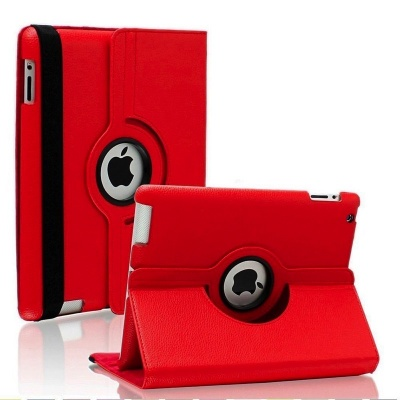 iPad 2/3/4-360 Rotating Case Red