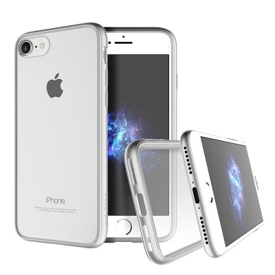 iPhone 7 / iPhone 8 Case Prodigee Scene Series- Silver