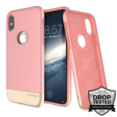 iPhone X Prodigee Fit Pro Series Rose/Gold