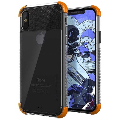 iPhone X Ghostek Covert 2 Series Cover  Orange