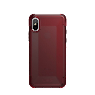 iPhone X UAG Plyo Feather-Light Case Crimson