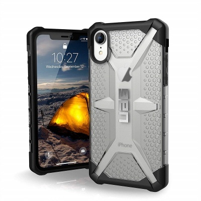 iPhone XR Case UAG Plasma Series Cover - Ice