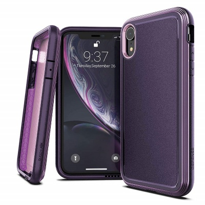 iPhone XR Case X-Doria Defense Ultra+ Series - Purple
