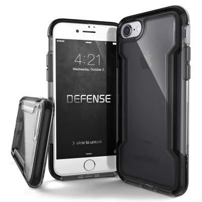 iPhone SE(2nd Gen) and iPhone 7/8 Case X-Doria Defence Clear- Black