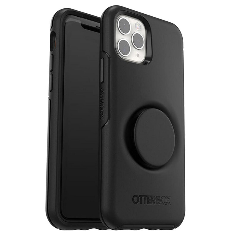 iPhone 11 Pro Otter + Pop Symmetry Series Case Black