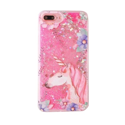 iPhone 6s/6 Quick Sand Glitter Unicorn Pattern Covers