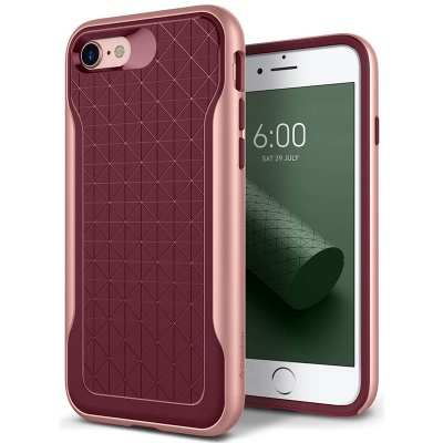 iPhone 7 / iPhone 8 Case Caseology Apex Series- Burgundy