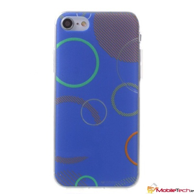 iPhone 7 / iPhone 8 Case Goospery Da Vinci Jelly Blue