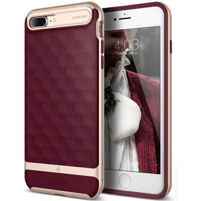 iPhone 7/8 Plus Caseology Parallax Series Burgundy