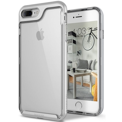 iPhone 7/8 Plus Caseology Skyfall Series Silver