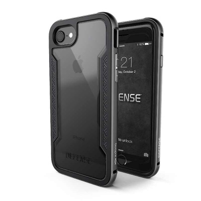 iPhone 7 / iPhone 8 Case X-Doria Defence Shield- Grey