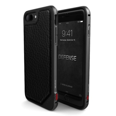 iPhone 7/8 Plus X-Doria Defense LUX Black Leather