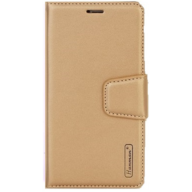 Huawei P Smart Hanman Wallet Case Gold