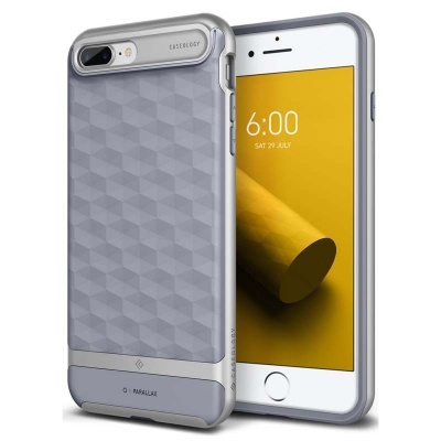 iPhone 7/8 Plus   Parallax Series Case - Ocean Gray