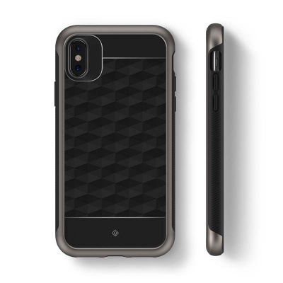 iPhone X Caseology  Parallax Series Case - Black / Warm Gray