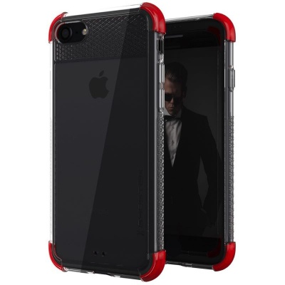 iPhone 7 / iPhone 8 Case Ghostek Covert2 Series Red