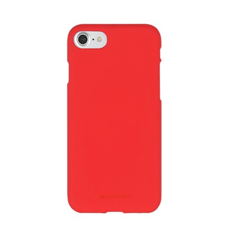 iPhone SE(2nd Gen) and iPhone 7/8 Case Goospery Soft Feeling- Red
