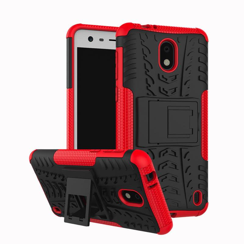 Nokia 2 Tyre Defender Cover Red