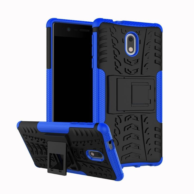 Nokia 3 Tyre Defender Cover Blue