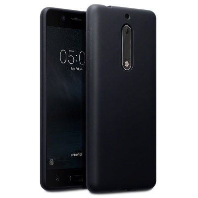 Nokia 5 Silicon Case Black