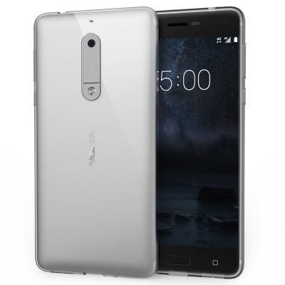 Nokia 5 Silicon Case Clear