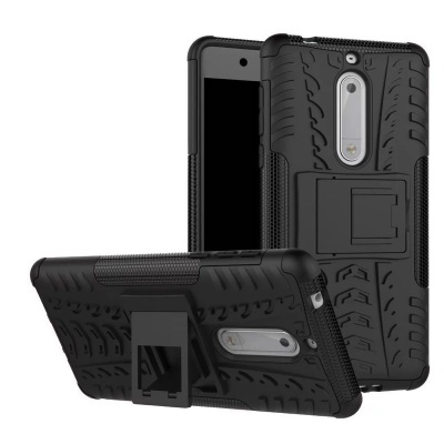 Nokia 5 Tyre Defender Cover Black