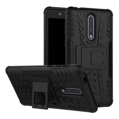 Nokia 8 Tyre Defender Cover Black